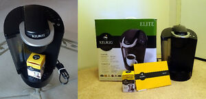 Keurig Brewer  Elite B40   (My K-cup reusable filter for free)