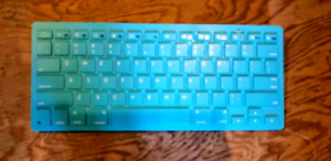 Clavier bleu bluetooth
