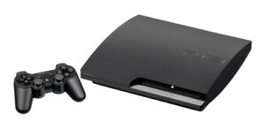 PS3 500gig 2 controllers a few games