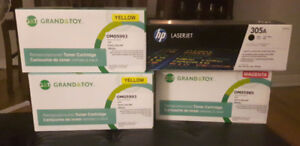 Asstd. HP  toner cartridges