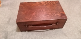 Vintage Wooden Suit Case