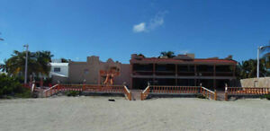 New Beachfront Apartment Rentals - Progreso, Yucatan, Mexico