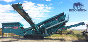 2011 POWERSCREEN CHIEFTAIN 1700 TRACKED SCREENING PLANT