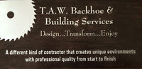 T.A.W. Backhoe & Building Services
