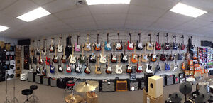 Fender Guitars, Basses, and Accessories!