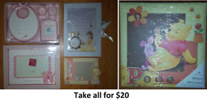 Baby Gifts Lot (Take all for $20)