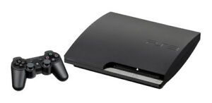 Play Station 3 (with 1 controller and 4 free games)