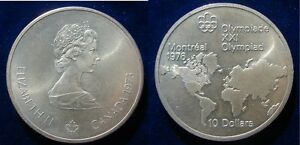 RCM - 1976 Montreal Olympics $10 Silver Coin