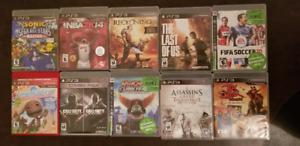 Lot de jeux PS3