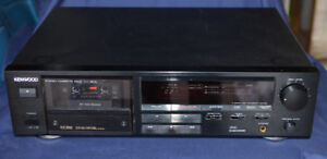 Kenwood KX-3510 Single Cassette Deck Auto Reverse Made in Japan