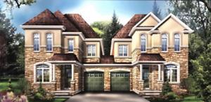 RENTAL MILTON SEMI DETACHED 4 BEDROOM NEW CONSTRUCTION HOUSE