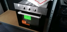 Integrated electric Fan Assested Oven Single