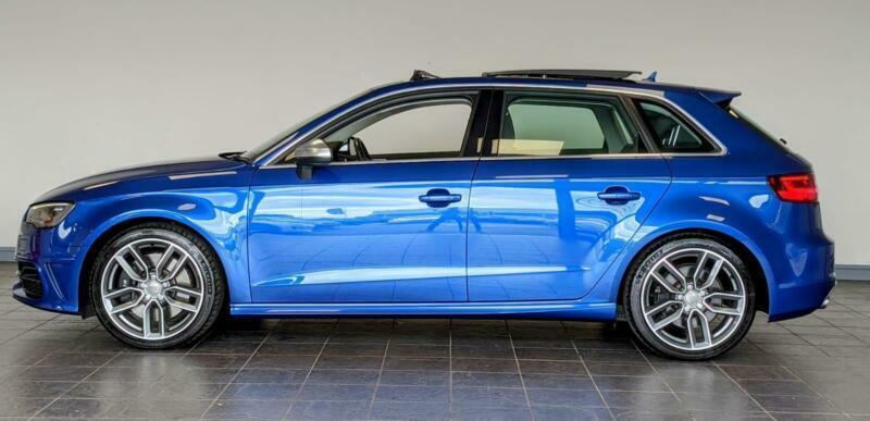 2015 Audi A3 S3 SPORTBACK QUATTRO NAV 5 Door Hatchback Petrol Manual