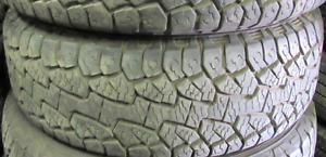 85% TREAD*P235//65//17 HANKOOK TIRES (2 OF THEM) Tires are inspe