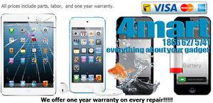 iPhone, iPad, iPod  Repair Services, Unlocking, Batteries