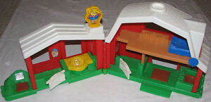 F.P. Little People Animal Sounds Barn / Farm, Characters & Book