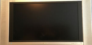 Sharp Aquos Flat Screen TV- with Wall Mount and Stand