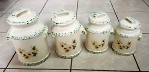 Kitchen - Canister Set, Grater Set, China Serving Set