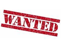 Wanted fridge freezer