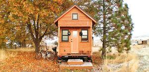 Étudiante recherche emplacement pour stationner une mini-maison!