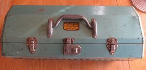 OLD FISHING TACKLE BOXES