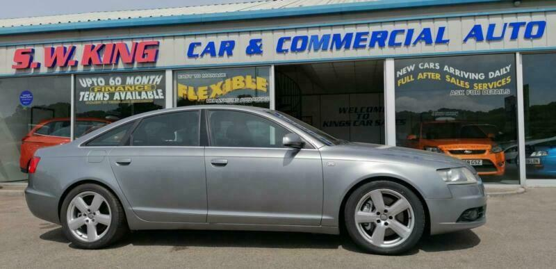 2006 Audi A6 3.0 TDI 233 Quattro S Line 4dr Tip Auto SALOON Diesel Automatic