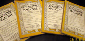 Collectible National Geographic Magazines from June 1930