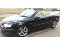Saab 9-3 1.8T Vector CONVERTABLE. GUARANTEED FINANCE payment between £25-£50 PW