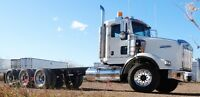 2007 Kenworth T800 Tri Axle Cab & Chassis