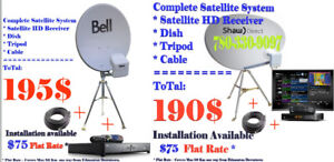 BELL / SHAW Complete RV Satellite Dish System UNDER $200