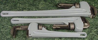 3pc ALUMINUM PIPE WRENCH 14