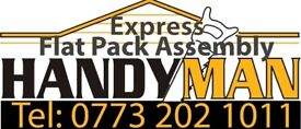 Flat Pack Assembly/ Handymen Services/ Kitchen Fitter/ Painter/ Blinds Installation/ TV mounting