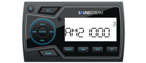 Soundstream MHU-32 Marine Boat UTV MP3 Digital Media Player Bluetooth AUX USB