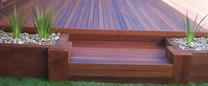 Solid Timber Decking Blackbutt & Mixed Reds $1.87lm or $29.25m2 Yennora Parramatta Area Preview