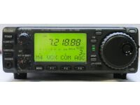 wanted hf tranceiver icom 706 yaesu ft100 ft857 alinco dx70 kenwood ts50 mobile ham radio