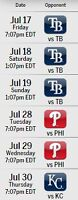 July 17, 18, 19, 28, 29, 30, 31 Toronto Blue Jays Tickets!!!!!!!