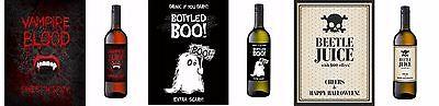 Flaschenlabels Halloween Aufkleber Flaschenetiketten Grusel Etiketten Horror  (Halloween Flaschen Etiketten)