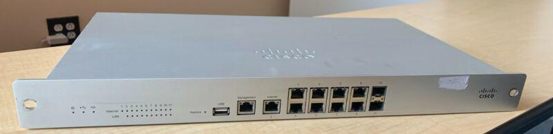 Unclaimed Cisco Meraki MX100-HW Firewall Cloud Managed Security Appliance