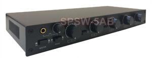 Multi-Zone Professional Speaker Distribution Matrix System With Banana Plugs