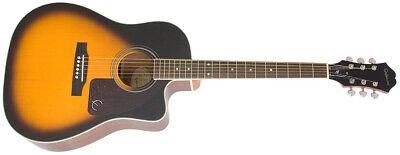 Epiphone AJ220SCE Electro Acoustic Guitar - Vintage Sunburst