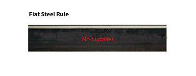 "Flat Steel Rule 2pt 0.937"" height, 39.37"" long, Die Cutting Steel Rule - 10 pcs"