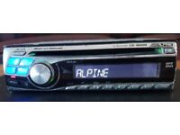 CAR HEAD UNIT ALPINE CDE 9845RB MP3 CD PLAYER 4x 45 AMPLIFIER AMP STEREO RADIO