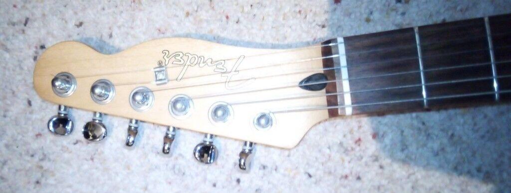 Fender Telecoustic Guitar Rosewood Fingerboard Fender Fishman