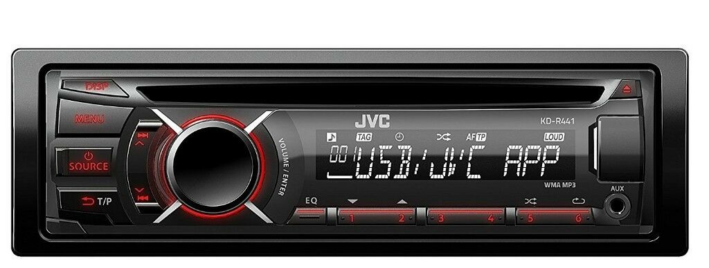 JVC KD-R441 Car Stereo ( Bluetooth, iPod, with usb )