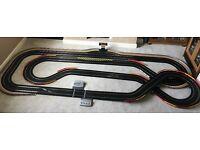 Scalextric Digital Large Layout with Lap Counter & 4 Digital Cars