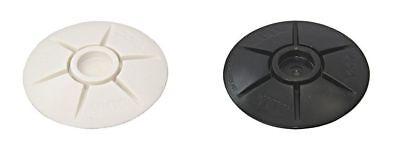 YKK SNAD Push & Revolving Fastener Upper 40mm White