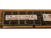 8GB Genuine Samsung DDR3 4Rx8 PC3L 8500R Server RAM M393B1K73CH0-YF8 Registered