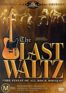 The Last Waltz - NEW DVD