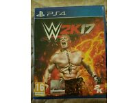 PS4 GAME WWE2K17