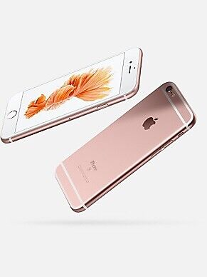 iPhone 6S plus,64GB rose gold colours unlocked New